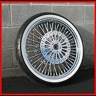 21X3.5 MAMMOTH FAT SPOKE 00-07 WHEEL 120/70-21 WW AVON TIRE KIT HARLEY TOURING