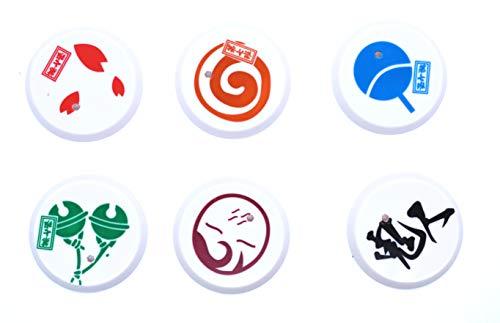 Anime Domain Set de Figuras en Forma de Personajes de Naruto 4