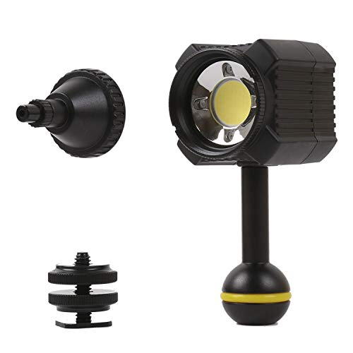 Orsda Diving Light High Power Mini Waterproof led Light Scuba Diving Lights Fill-in Light for Waterproof housing Underwater Photographic Lighting System …