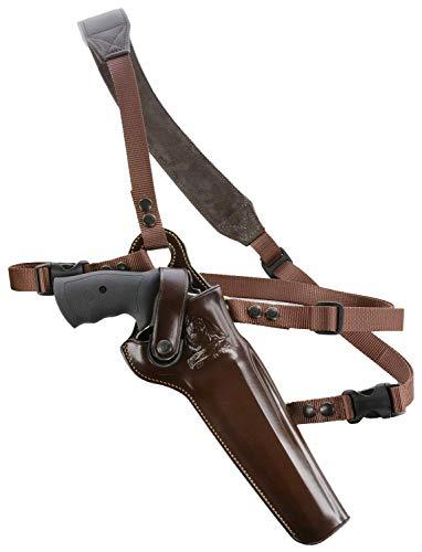 GALCO - Kodiak Hunter Chest Holster S&W 8 3/8-Inch N FR .44 Model holsters 29/629, Right Hand (Dark Havana Brown) (KH130H)