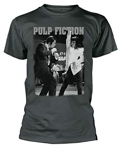 Pulp Fiction 'Dancing' - Camiseta Gris Gris M