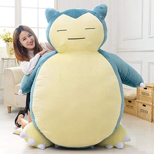 Ghghz Anime Soft Animal Pikachu Snorlax muñeca Peluches