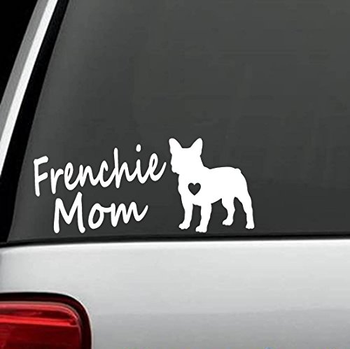 Frenchie Mom French Bulldog Decal Sticker for Car Truck