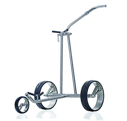 JuCad Phantom Titan Elektro Trolley I Carbon I Golf I 48V I Titanrahmen