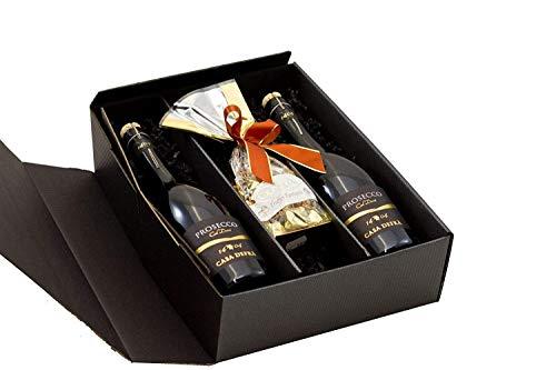 Geschenkset Prosecco mit Schokoladentrüffel