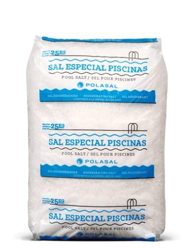 Sal para clorador salino Pìscinas saco 25 kg (Saco de 25 Kg)