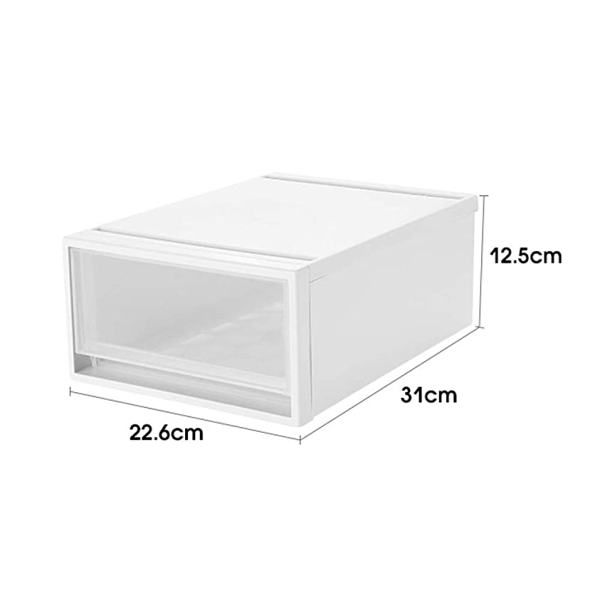 ブラスト無許可漏れ卓上収納ケース 収納用品 文具収納 A4サイズ 大容量 収納ボックス 小物入れ PVC 防水 防塵 多機能 安定 シンプル 仕切り オフェス用品 収納ボックス 事務用品 ファイルボックス 引き出し ホワイト