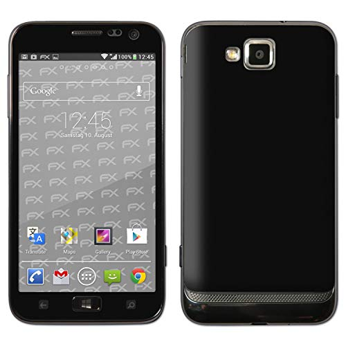 atFolix Skin kompatibel mit Samsung Ativ S GT-I8750, Designfolie Sticker (FX-Velvet-Black), Matte Oberfläche