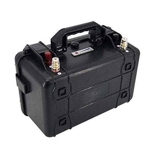 OANCO Batería De Fosfato De Hierro Litio De 12V 100AH LIFEPO4,BMS Incorporada,para La Batería De Almacenamiento De Energía Solar EV RV (Color : 12V 100Ah)
