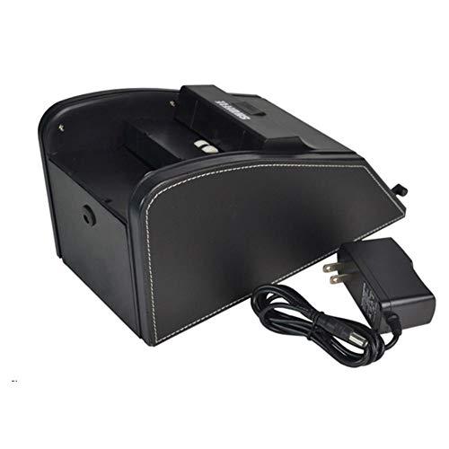 Cokeymove Automatischer Kartenmischer - Batteriebetriebener oder steckerbetriebener elektrischer Mischer - Professionelle 2-in-1-Kartenmischer-Deal-Maschine Sustainable