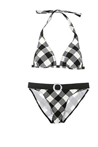 Olympia 31161 Bikini dos nu Noir (901) Taille 40B
