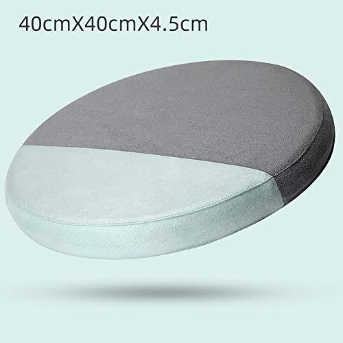Ronde zitkussen Tuinstoel Kussens Memory Foam Lage Rebound Kussen Mat Ondersteuning Kussen Voor Indoor Eetstoel