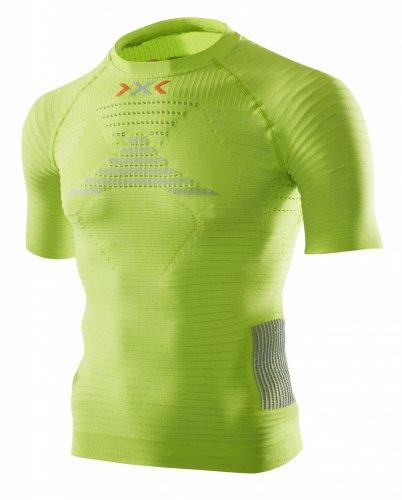 X-Bionic Effektor Power - Maglietta da Running Uomo, Limetta, S