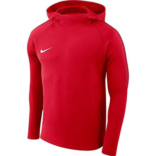Nike Herren Academy18 Hoodie Kapuzensweatshirt, Rot (university red/Gym red/White/657), Gr. L