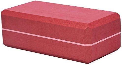 Yoga Block PRO Yogablock Klotz Hilfsmittel Pilates Asana Brick rot