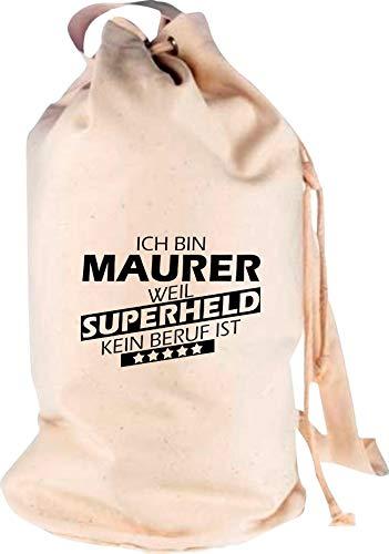 Camiseta stown-Petate Ich bin Albañil, porque Super Held No Profesión es, naturaleza