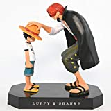SHOCKTU Redhead Shanks Luffy Action Figure Model Statue Figure Toy Gift Decoration Collection