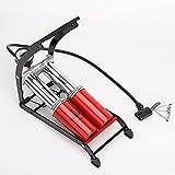 Bomba para Mini Bicicleta con presión Bomba Inflable de pie