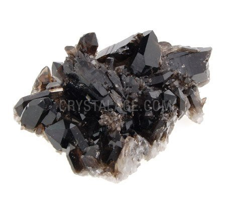 Smoky Quartz Cluster - Small by CrystalAge