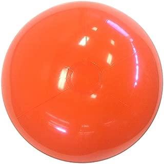 Beachballs - 16'' Solid Orange Beach Balls