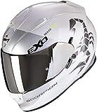Scorpion - Casco EXO-510 Air Pique XXL PEARL WHITE-SILVER