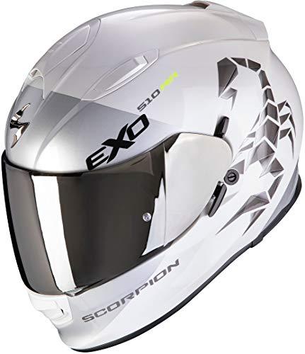 Scorpion Helm EXO-510 AIR PIQUE PEARL WHITE-SILVER XXL