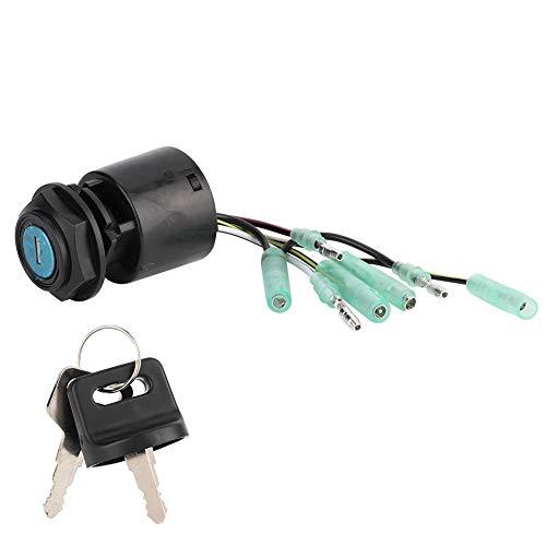 Boten contactsleutel, contactsleutel contactslot voor starter geschikt voor 35100-ZV5-013 Dirt Super Bike ATV Scooter