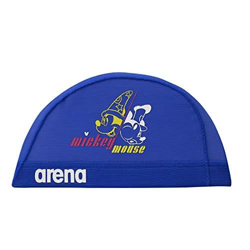 arena(アリーナ) スイムキャップ ディズニー 水泳帽 メッシュキャップ DIS-9310 ブルー L