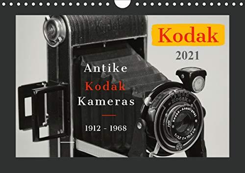 KODAK Antike Kameras 1912-1968 (Wandkalender 2021 DIN A4 quer)