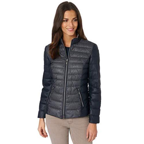 Bonita Leichte Jacke Blau Steppjacke Übergangsjacke (40)