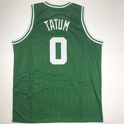 Unsigned Jayson Tatum Boston Green Custom Stitched Basketball Jersey Size Men's XL New No Brands/Logos
