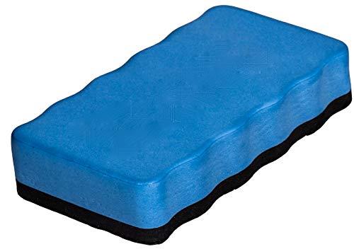 Dynamic Wave Whiteboard Schwamm, Magnetischer Wischer, magnetisch, White-board eraser) blau