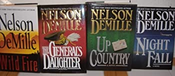 The General s Daughter Up Country Wild Fire & Night Fall by Nelson DeMille  4 Books