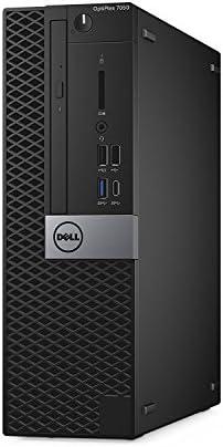 Dell OptiPlex 7050 Small Form Factor Business Desktop Computer (Intel Core i5-6500, 8GB DDR4, 256GB SSD, DVD) Windows 10 Pro (Renewed)
