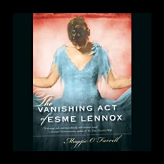 The Vanishing Act of Esme Lennox audiobook cover art