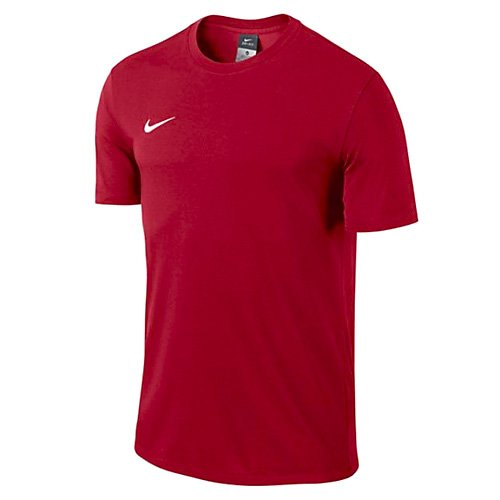 Nike Kinder T-shirt Club Blend Trainingsshirt, University Red/Football White, XS
