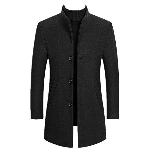 Invierno Hombres Gruesa Abrigos Collar Masculino Outwear Chaquetas Trench