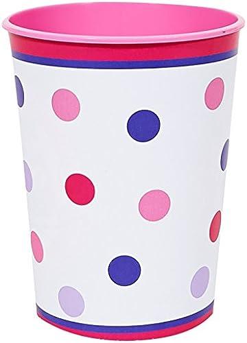 1st Birthday Girl Sweet Stripes 12oz. Plastic Cup