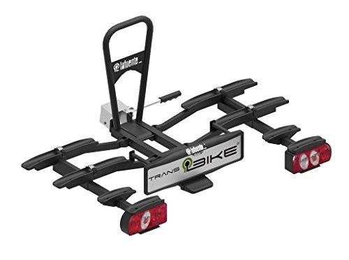 TransBike Portabicicletas para 4 Bicicletas. Transporta Tus bicis Plegable, abatible y con...