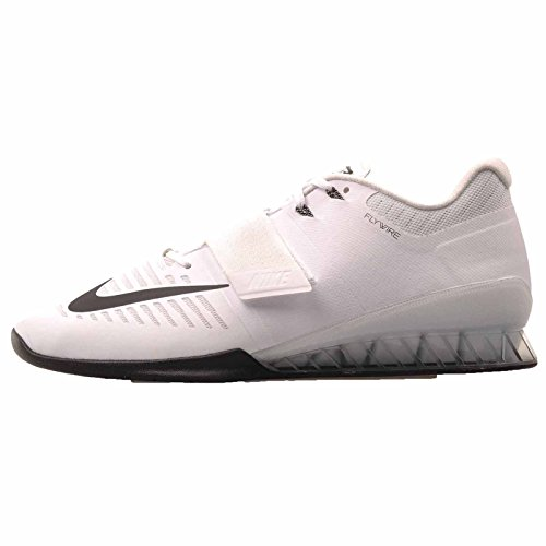 Nike Mens Romaleos 3 Weightlifting Shoes Mens Size 13 Black/White