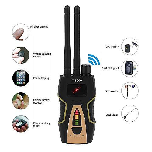 Wzz T8000 Radio RF Detector De Señal Portátil Anti Espía Oculta Cámara Detector gsm Audio Bug Finder GPS Escáner De Gran Alcance De Detección
