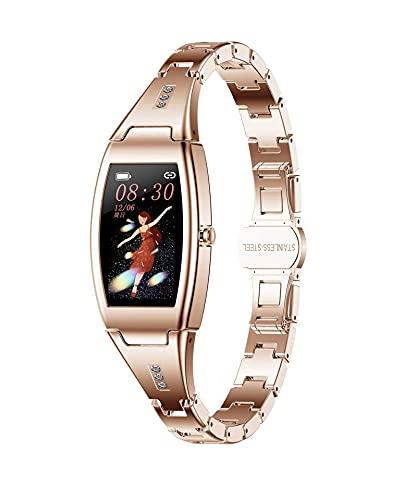 XYJ Smart Watch Kompatibel mit iPhone und Android-Telefonen Fitness-Tracker mit Blutdruck und Herzfrequenz-Monitor Anrufnachricht Benachrichtigung Wettervorhersage IP67 Wasserdichte Smartwatch für Män