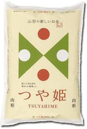 山形県 置賜産 つや姫 平成30年産 特別栽培 (白米, 5kg)