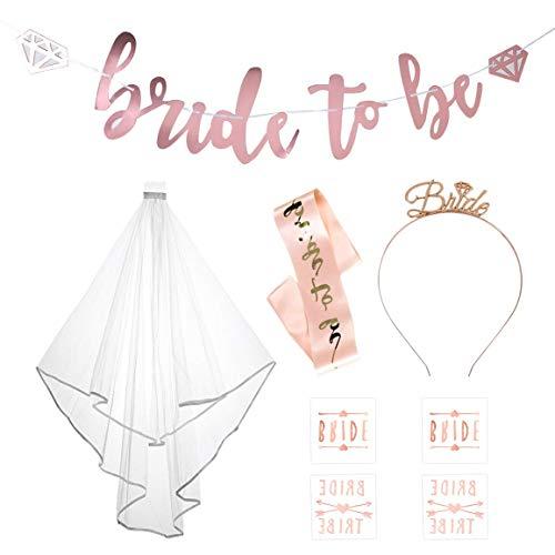 arret Middleton Weltweit Neu Braut Hemming Schleier Rose Blond Reifen Hängen Flagge Tattoo Sticker Etikette Gürtel Set - 01