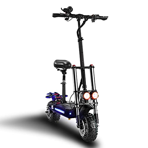 ReddyRD1 Electric Scooter, Max Speed 60MPH, 65mile...