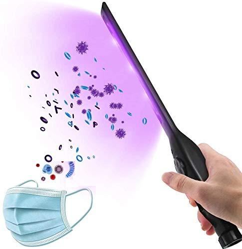 Lampada Germicida di Disinfezione UV, Lampada Disinfettante UV Portatile, 9 LED luce Antibatterica, Lampada Sterilizzatore UV Portatile per Bagno/Cucina/WC/Camera da Letto