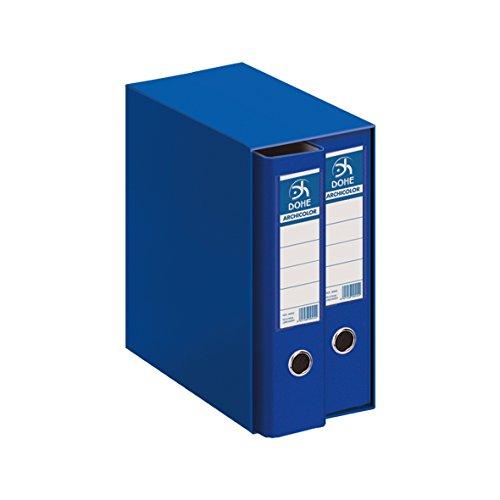 Dohe Archicolor - Módulo 2 archivadores A4, color azul