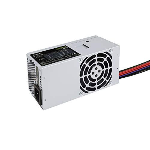 TooQ TQEP-TFX500S-O - 500W Ecopower II Alimentazione TFX 12V V1.3 OEM ventola silenziosa (PFC attivo, 20+4 pin ATX, PC, Superior, CE/RoHS, colore argento)