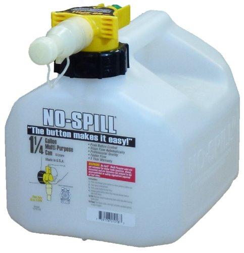 No-Spill 1018 1-1/4-Gallon Poly Multipurpose Can