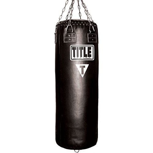 TITLE Leather Heavybag - 150 lbs
